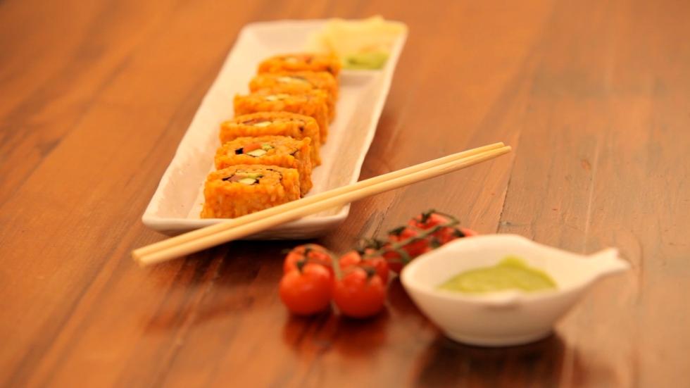 Jollof Rice Sushi